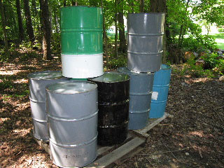 Metal 55 Gallon Drums in Vermont
