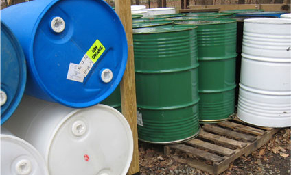 Plastic and Metal 55 Gallon Barrels in Vermont