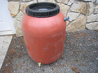 53 Gallon Rain Barrels in Vermont